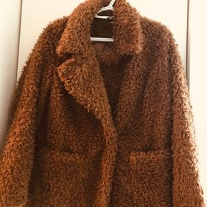 Furry Teddy Coat